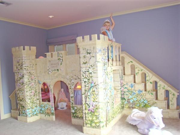 Décoration dune chambre de petite princesse