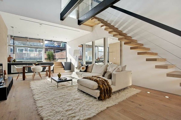 Design duplex appartement les meilleures id es en images - Idee appartement design ...