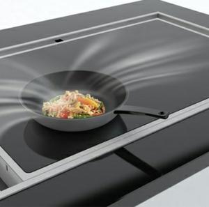 Une hotte pour cuisine - beaucoup des idées