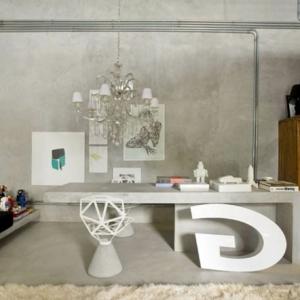 L' architecture d'intérieur pour un office à la maison