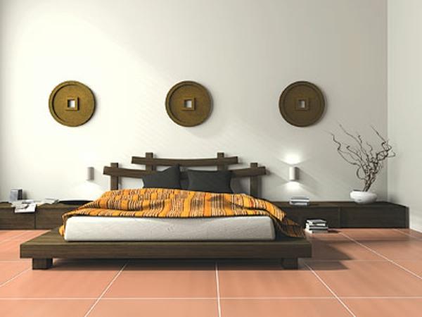 12 id es pour d coration zen de votre chambre coucher for Etagere japonaise