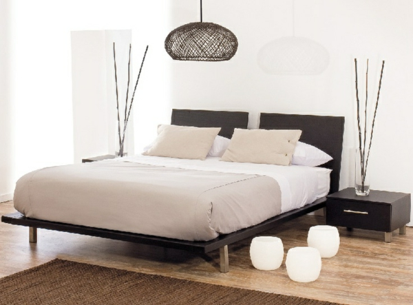 Emejing deco simple chambre a coucher contemporary for Chambre a coucher decoration
