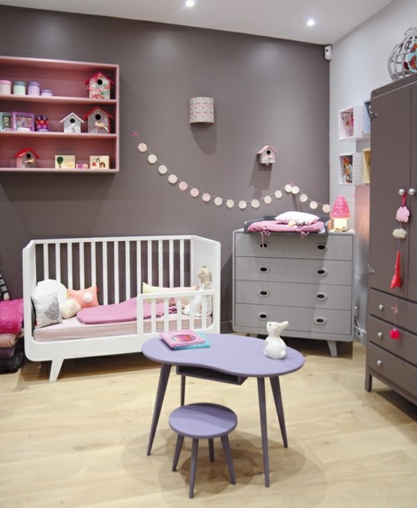 idee deco chambre bebe fille rose et gris id e inspirante pour la conception de. Black Bedroom Furniture Sets. Home Design Ideas