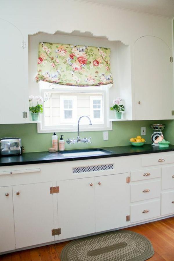 deco-cuisine-rettro-style-vert-blanc