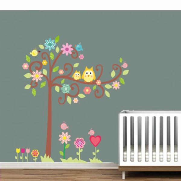 deco-sticker-muraux-arbre-coloré-mur-gris-