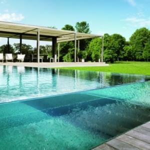Eux et piscines - modèles uniques en verre
