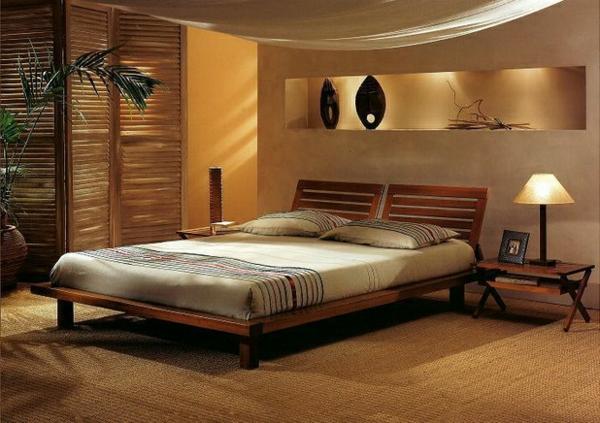 Chambre En Bois Naturel: Lit adulte alissia naturel huilé chambre ...