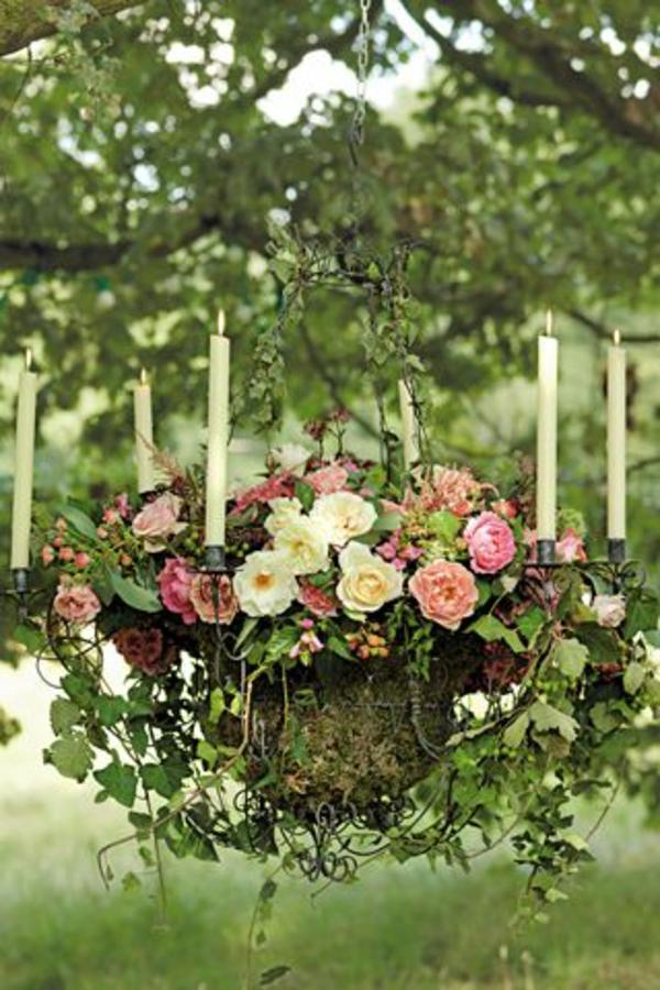 Les fleurs comme un objet deco vintage style for Objet deco pour jardin