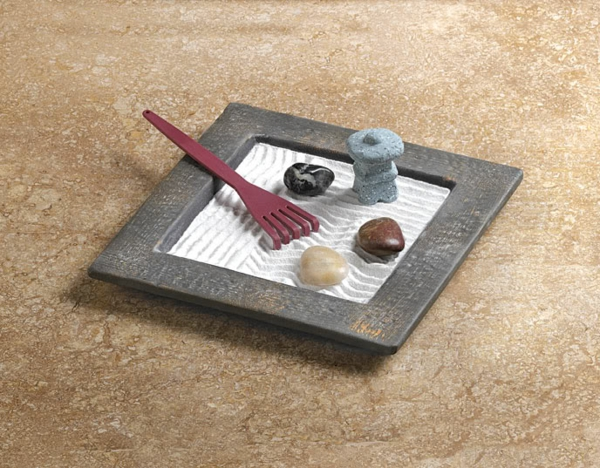 Choisir une jardin zen miniature pour relaxer for Accessoire pour jardin zen