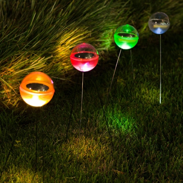 lampes-solaires-de-jardin-rondes-etcolorés