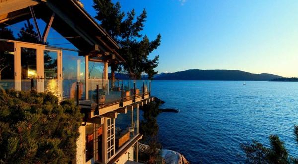 Design d 39 ext rieur pour la maison de la mer - Maison au bord de la mer malibu ...