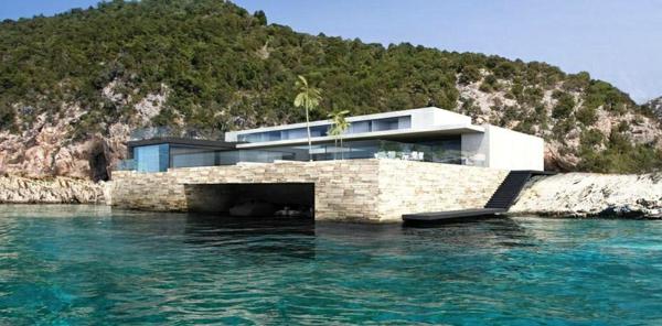 design d 39 ext rieur pour la maison de la mer