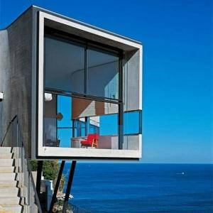Design d'extérieur pour la maison de la mer