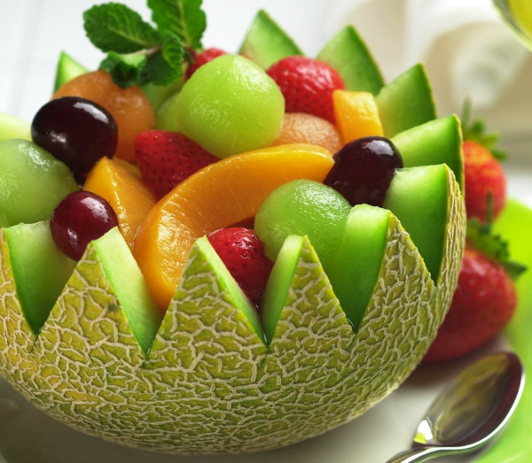 Extrêmement Décorer avec des fruits- si frais et coloré! - Archzine.fr KR83