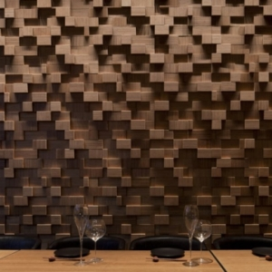 Une décoration en bois pour le mur