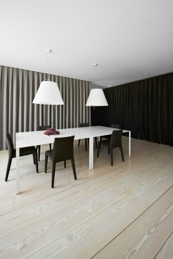 Comment faire la d co de table noir et blanc for Table noir et blanc