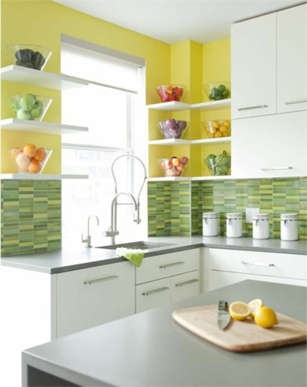 Id es pour la deco cuisine retro - Decoratie murale pour cuisine ...