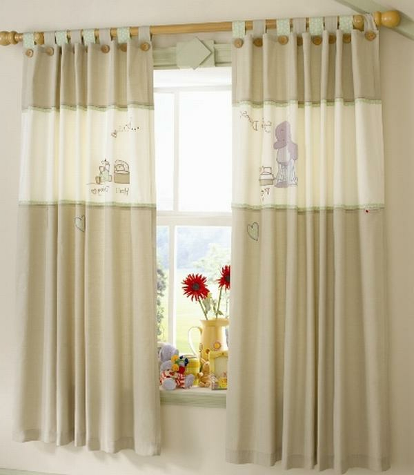 rideau chambre enfant decoration rideaux pour chambre d. Black Bedroom Furniture Sets. Home Design Ideas