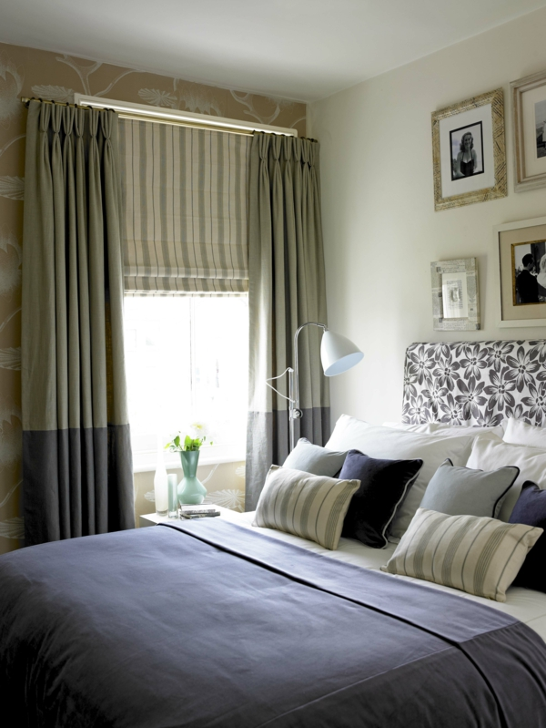 Le rideau occultant pas cher ou luxueu obligatoire pour la chambre coucher - Chambre a coucher pas chere ...
