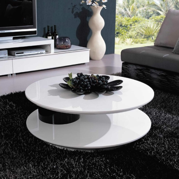 rond-deco-de-table-noir-et-blanc