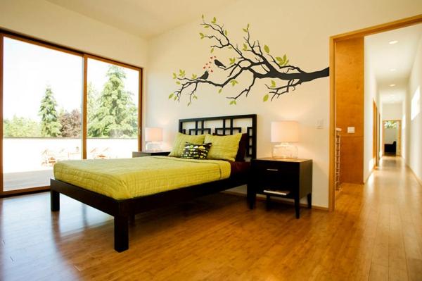 magnifiques stickers d coratifs g ants. Black Bedroom Furniture Sets. Home Design Ideas