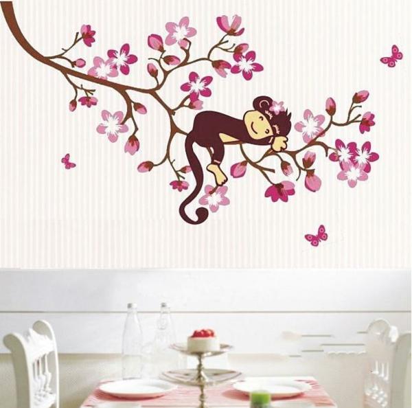 stickers-décoratifs-pas-cher-fleurs-