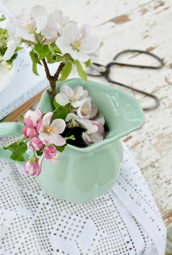 vase-vert-fleur-objet-deco-vintage