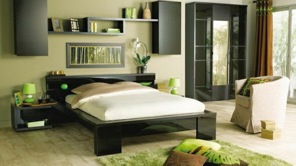 Schlafzimmer : Schlafzimmer Ideen Grün Schlafzimmer Ideen In ... Schlafzimmer Farben Grn