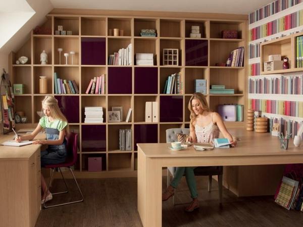 étagère-pour-la-bibliothèque-de-la-maison