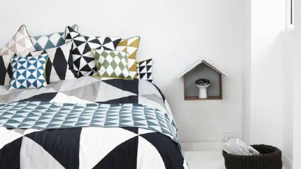 Le linge de lit design la subtile impression de luxe for Beau linge de maison