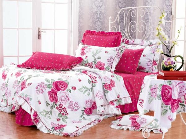 rose blanche linge de maison avie home. Black Bedroom Furniture Sets. Home Design Ideas
