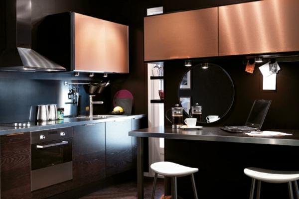 Cuisine cuisine blanc bois noir 1000 id es sur la for Cuisine blanc et bois