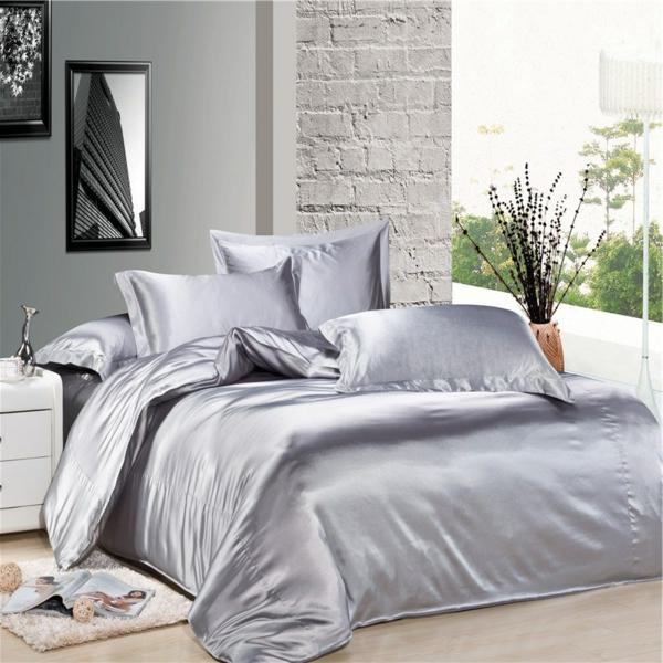 la housse de couette soie une touche de luxe dans votre. Black Bedroom Furniture Sets. Home Design Ideas