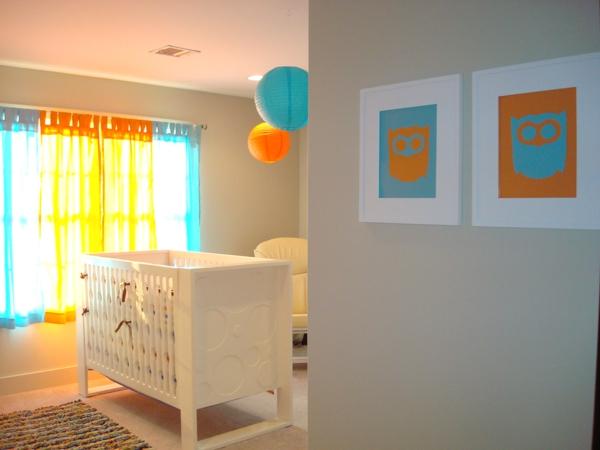 Beautiful Chambre Orange Et Gris Bebe Ideas - Home Decorating ...