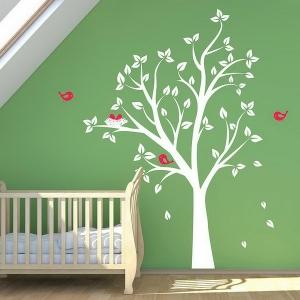 La décoration murale chambre bébé - comment faire pour avoir l'ambiance desirée de tendresse et de bonheur?