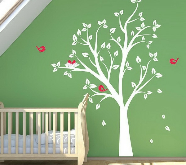Baby-Nursery-Room-Ideas-with-Birds-and-Tree-Wall-Stickers-resized