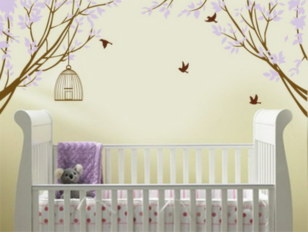 Beautiful-Purple-Flowers-Blossom-and-Birds-Wall-Stickers-Decals-in-Nursery-Baby-Bedroom-Decorating-Ideas-resized