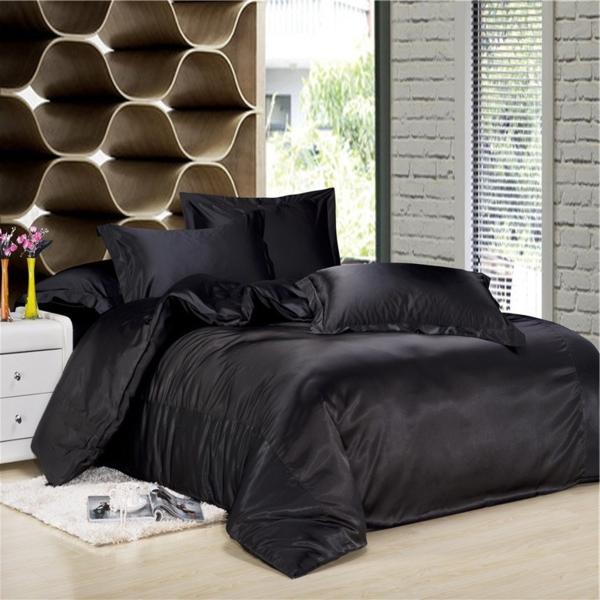 la housse de couette soie une touche de luxe dans votre maison. Black Bedroom Furniture Sets. Home Design Ideas