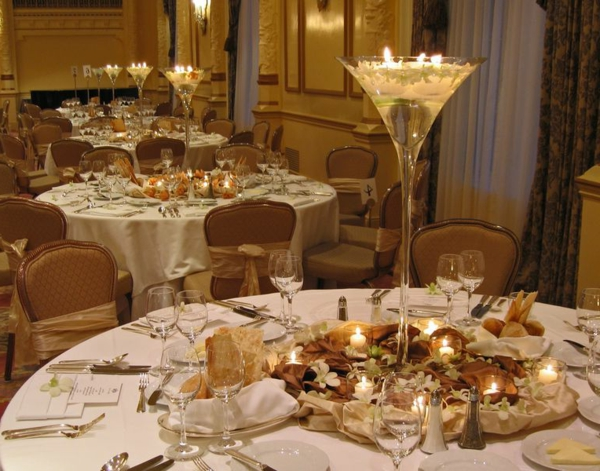 La d coration de table de mariage des id es fascinantes - Decoration de table mariage chic ...
