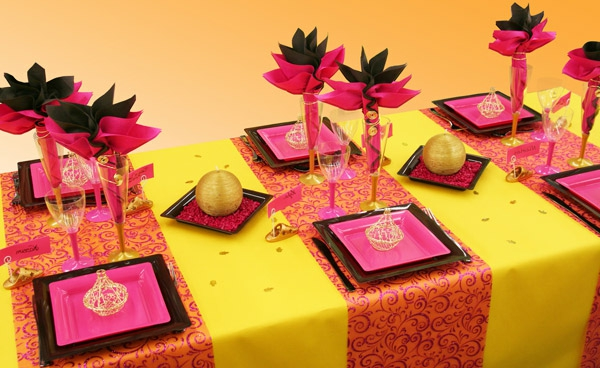 Table orientale decoration