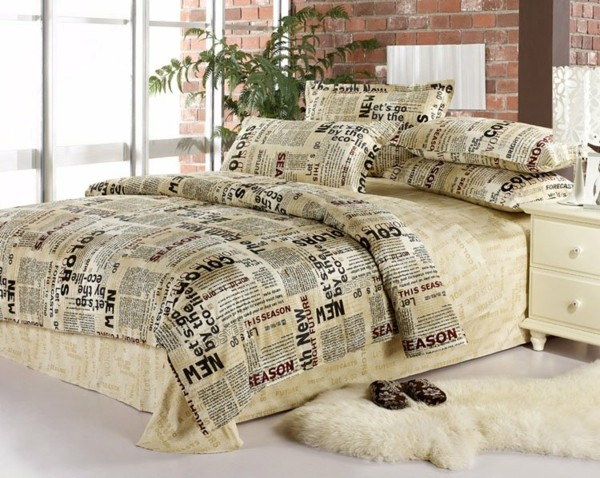 Home-Fashions-Cotton-4-pcs-Queen-font-b-bed-b-font-in-a-bag-sets-black-resized