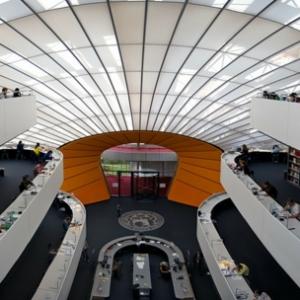 L' architecture contemporaine et les bibliothèques du monde
