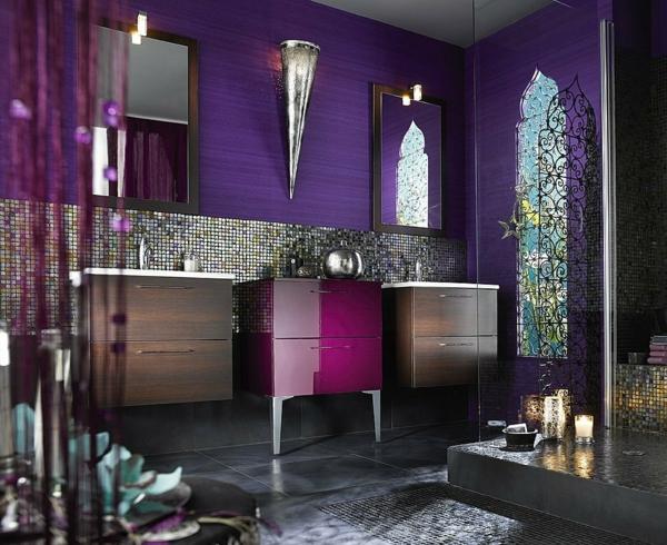 Mod le salle de bain moderne quelques id es fascinantes et promettantes for Idee deco salle de bain moderne