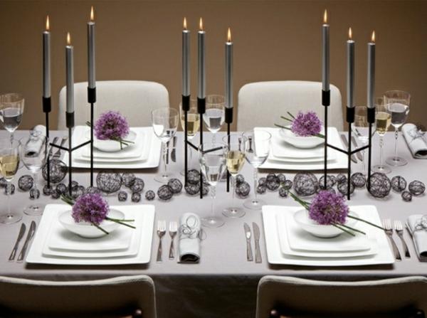 la d coration de table de mariage des id es fascinantes pour le grand jour. Black Bedroom Furniture Sets. Home Design Ideas