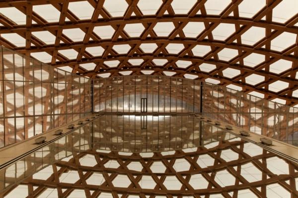 Centre Pompidou-Metz: vue intérieure