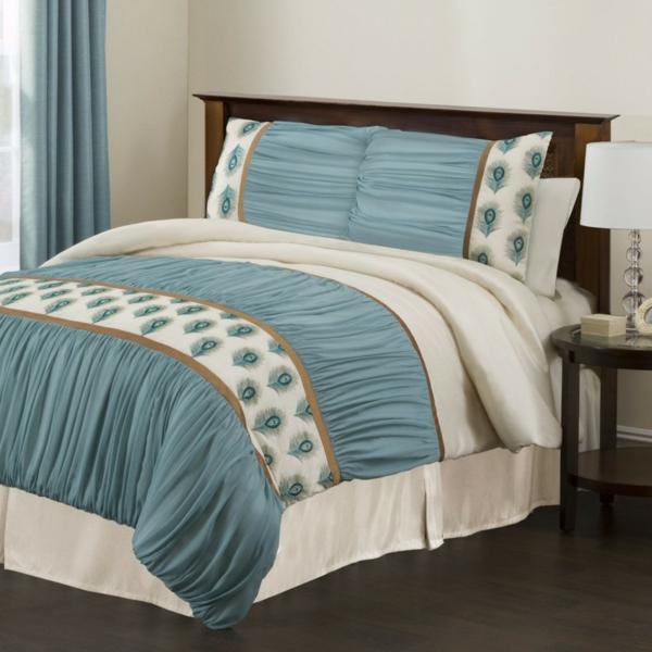 le linge de lit design la subtile impression de luxe. Black Bedroom Furniture Sets. Home Design Ideas