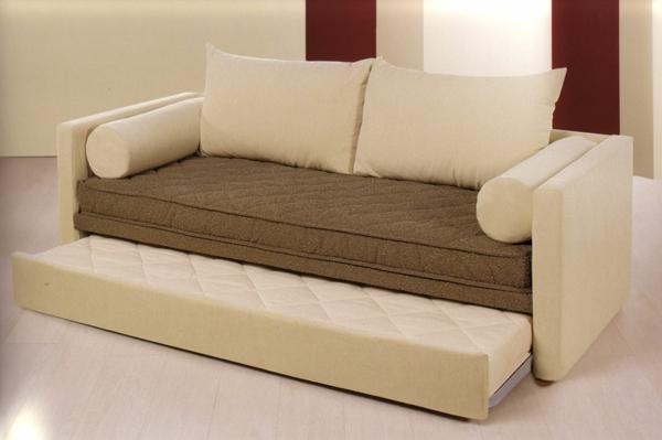 beige-design-pour-le-canapé-convertible