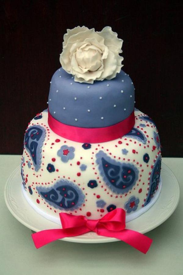 bleu-décorer-gateau-anniversaire-