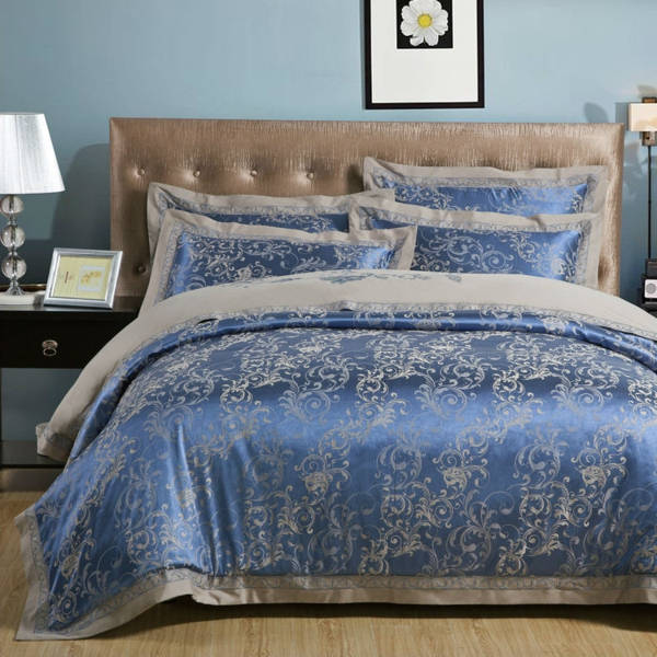 blue-embroidered-font-b-Satin-b-font-bedding-set-4-pcs-bedclothes-Luxury-font-b-bedcover-resized