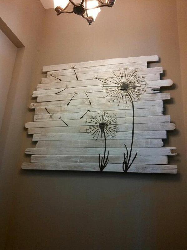 La d co de la maison objets en bois - Ausgefallene wandbilder ...